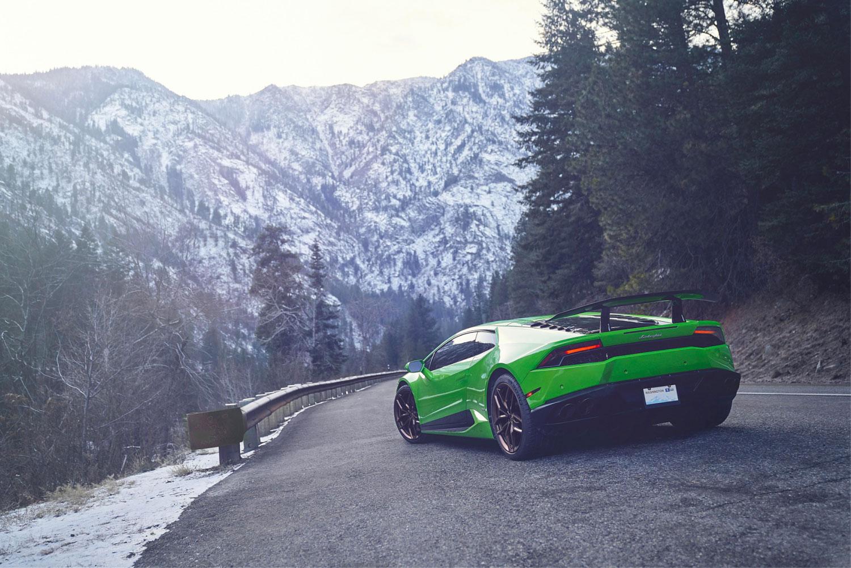 voiture et nature